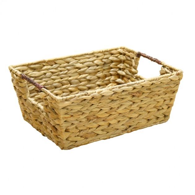 На фото: Корзина (62435), Плетені кошики Home4You, каталог, ціна