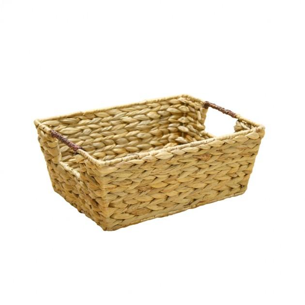 На фото: Корзина (62436), Плетені кошики Home4You, каталог, ціна