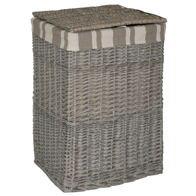 На фото: Корзина Max-1 (6650), Плетені кошики Home4You, каталог, ціна