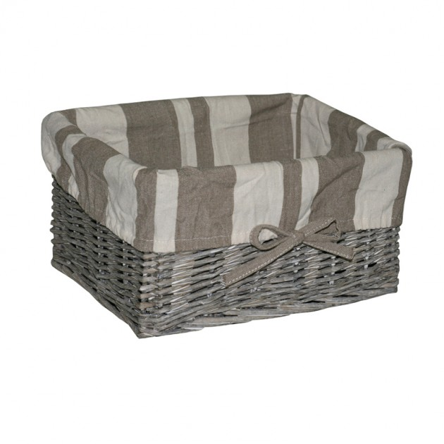 На фото: Корзина Max-2 (66501), Плетені кошики Home4You, каталог, ціна