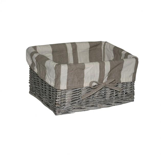 На фото: Корзина Max-3 (66502), Плетені кошики Home4You, каталог, ціна