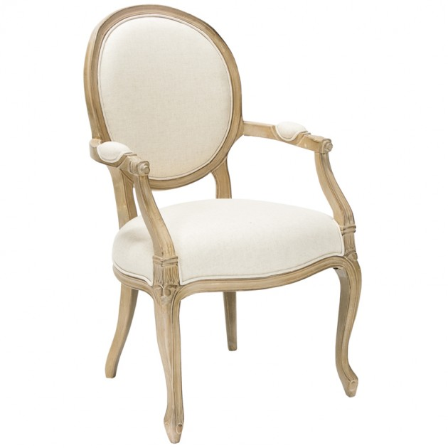 На фото: Деревянный стул для гостиной Elizabeth (69604), Стільці для дому Home4You, каталог, ціна