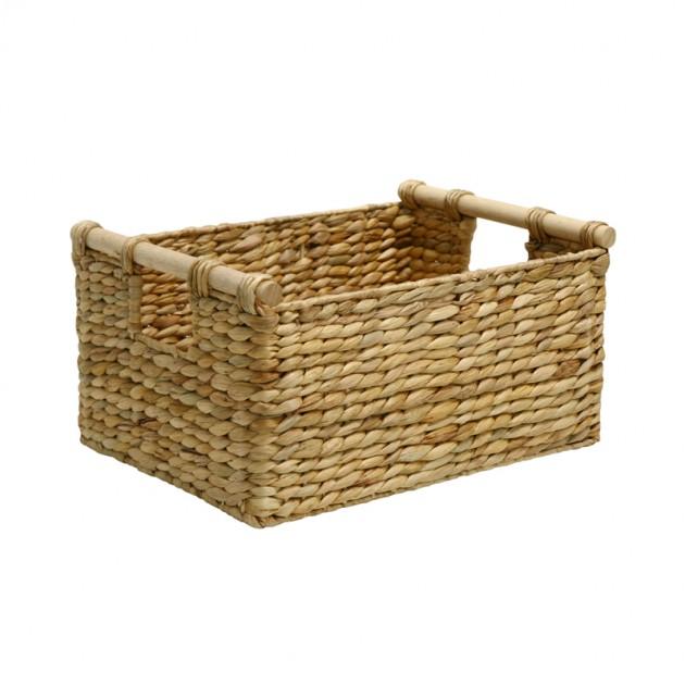 На фото: Кошик Maya (7061), Плетені кошики Home4You, каталог, ціна