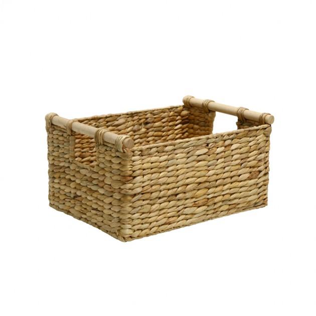 На фото: Кошик Maya (70611), Плетені кошики Home4You, каталог, ціна