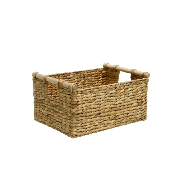 На фото: Кошик Maya (70612), Плетені кошики Home4You, каталог, ціна