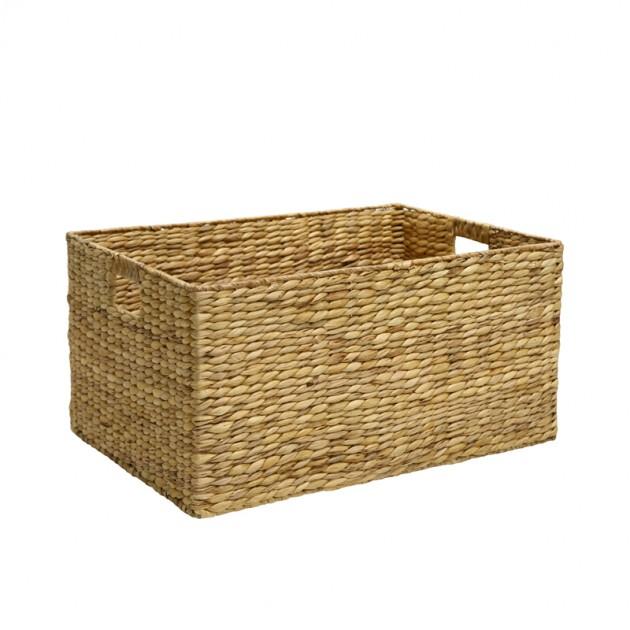 На фото: Кошик Maya (70621), Плетені кошики Home4You, каталог, ціна