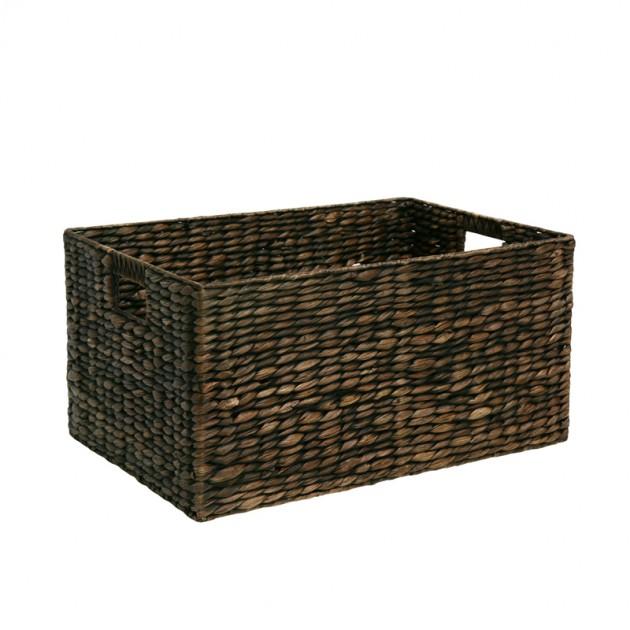 На фото: Кошик Maya (70631), Плетені кошики Home4You, каталог, ціна