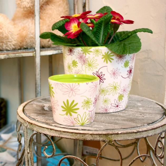 На фото: Підставка для квітів Macy (89342), Підставки для квітів Home4You, каталог, ціна