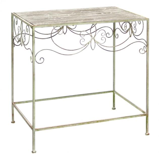 На фото: Допоміжний столик Macy (8938), Допоміжні столики Home4You, каталог, ціна
