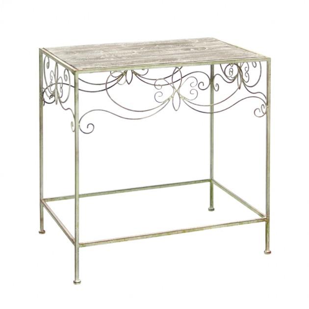 На фото: Допоміжний столик Macy (89381), Допоміжні столики Home4You, каталог, ціна