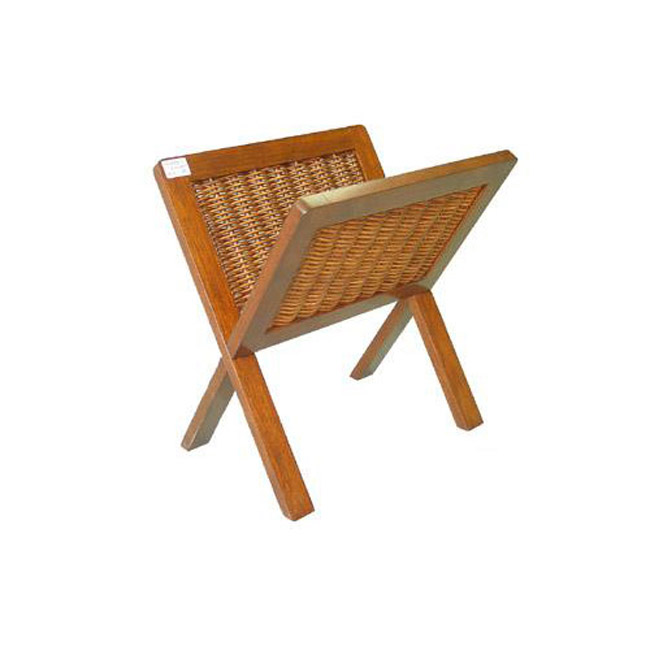 На фото: Газетница Lena (9362), Плетені кошики , каталог, ціна