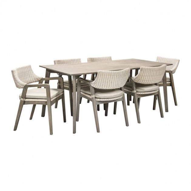 На фото: Комплект Elita (k13129), Столові комплекти Home4You, каталог, ціна