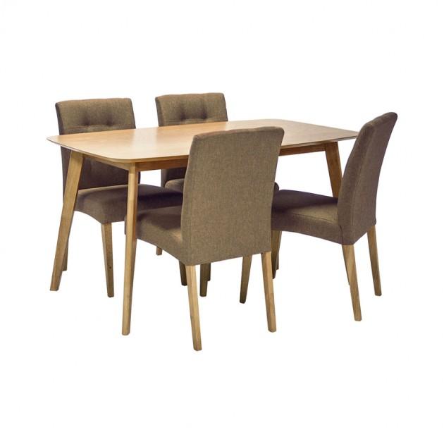 На фото: Комплект Enrich (k208947), Столові комплекти Home4You, каталог, ціна