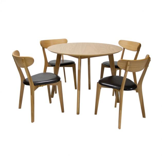 На фото: Комплект Leon (k20898), Столові комплекти Home4You, каталог, ціна