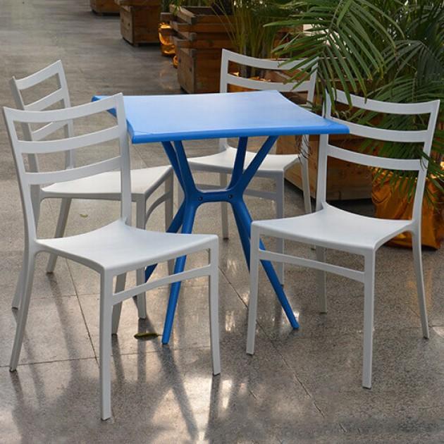 На фото: Стілець Maka (14011), Пластикові стільці Garden4You, каталог, ціна