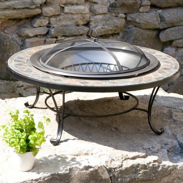 На фото: Садове вогнище Heat Lux (13198), Садові аксесуари Garden4You, каталог, ціна