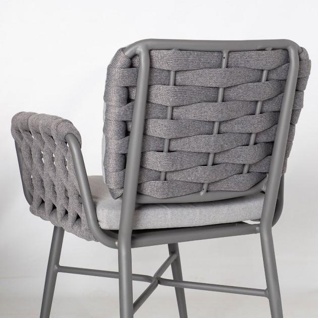 На фото: Садове крісло Ascona (21170), Крісла зі шнура Garden4You, каталог, ціна
