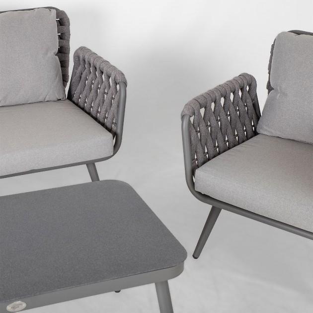 На фото: Комплект для відпочинку Ascona (21176), Диванні комплекти для відпочинку Garden4You, каталог, ціна