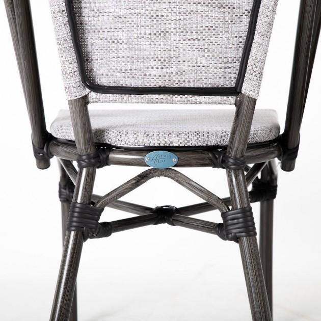 На фото: Стілець Bambus Latte (18631), Стільці з текстилену Garden4You, каталог, ціна