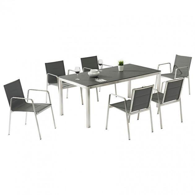 На фото: Столовий комплект Beverly (k21193), Столові комплекти з текстилену Garden4You, каталог, ціна