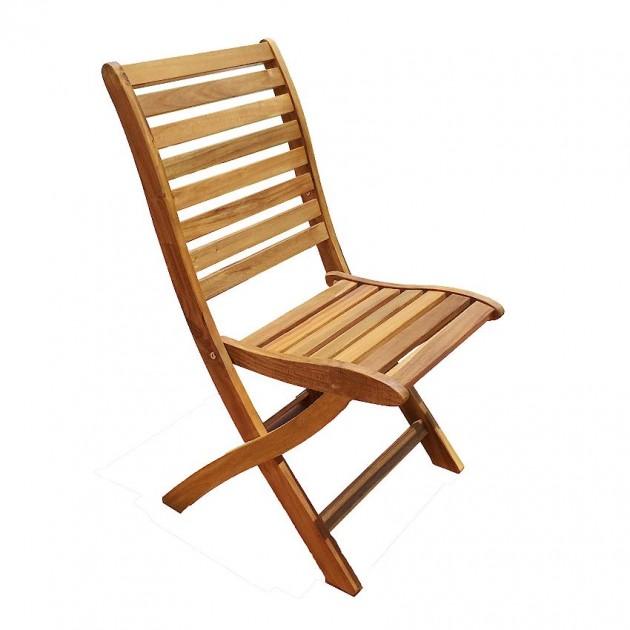 На фото: Складаний стілець Cherry (13325), Дерев'яні стільці Garden4You, каталог, ціна