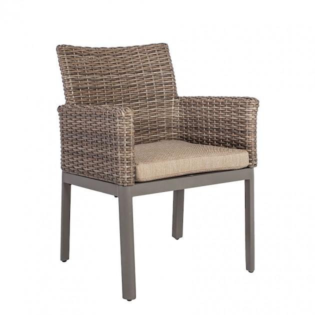 На фото: Ротангове крісло Admiral (40046), Крісла зі штучного ротангу Garden4You, каталог, ціна