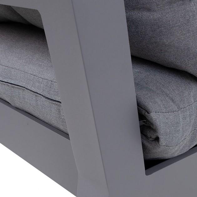 На фото: Середній диванний модуль Fluffy (13791), Модульні елементи Garden4You, каталог, ціна