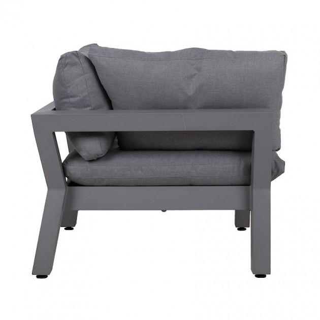 На фото: Кутовий диванний модуль Fluffy (13792), Модульні елементи Garden4You, каталог, ціна