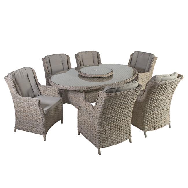 На фото: Столовий комплект Pacific (k10492), Столові комплекти зі штучного ротангу Garden4You, каталог, ціна