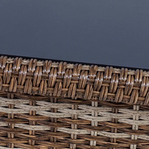 На фото: Диванний комплект Zurich (20582), Дивани і комплекти зі штучного ротангу Garden4You, каталог, ціна