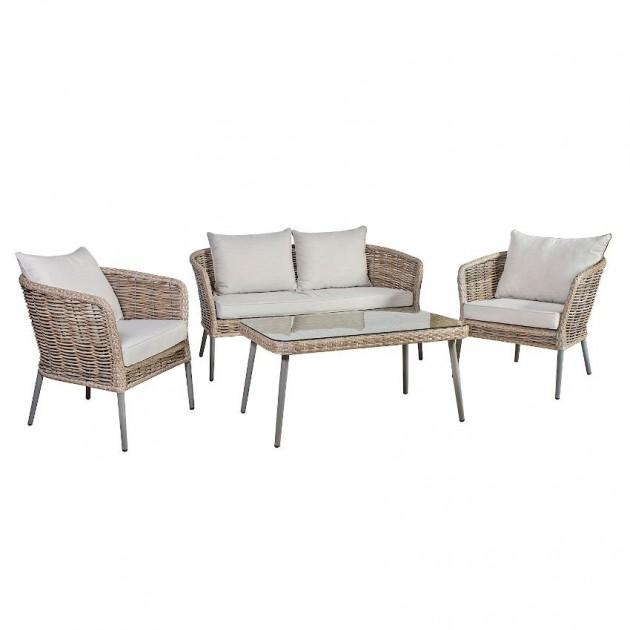 На фото: Комплект меблів Ecco (21241), Дивани і комплекти зі штучного ротангу Garden4You, каталог, ціна