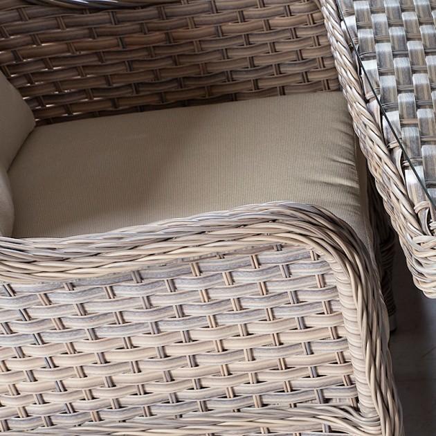 На фото: Столовий комплект Eden (19123), Столові комплекти зі штучного ротангу Garden4You, каталог, ціна