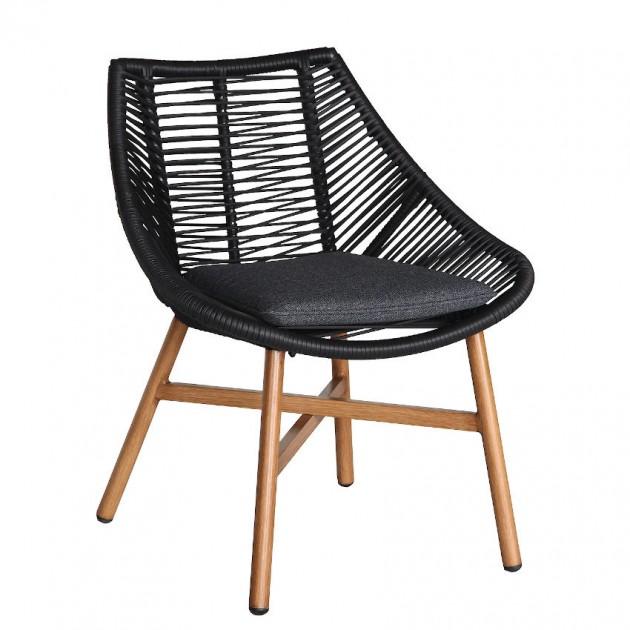 На фото: Садовий стілець Helsinki (20532), Металеві стільці Garden4You, каталог, ціна