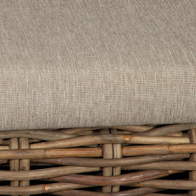 На фото: Кутовий комплект з ротанга Katalina (42051), Дивани з ротангу Home4You, каталог, ціна
