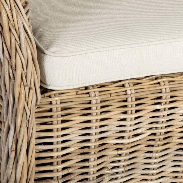 На фото: Ротангове крісло Katalina (42052), Крісла з ротангу Home4You, каталог, ціна