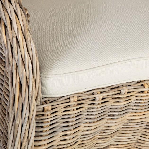 На фото: Ротангове крісло Katalina (42053), Крісла з ротангу Home4You, каталог, ціна