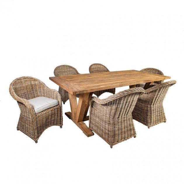 На фото: Столовий комплект Katalina (k42054), Столові комплекти Home4You, каталог, ціна