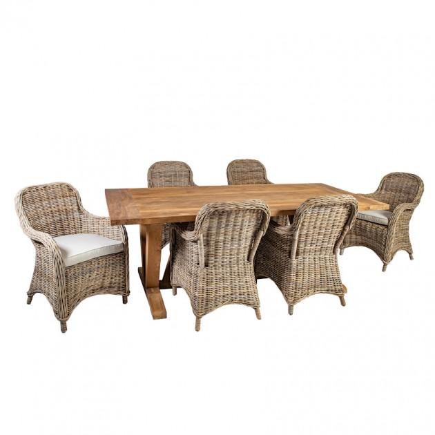 На фото: Столовий комплект Katalina (k420541), Столові комплекти Home4You, каталог, ціна