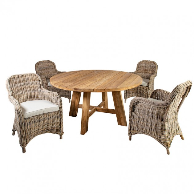 На фото: Столовий комплект Katalina (k420551), Столові комплекти Home4You, каталог, ціна