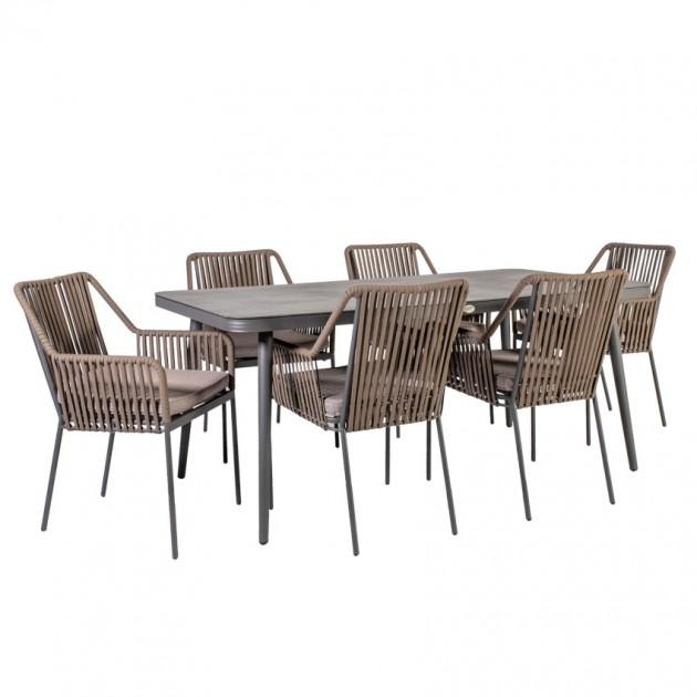 На фото: Столовий комплект Andros (k21173), Вуличні столові комплекти Garden4You, каталог, ціна