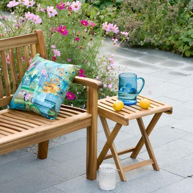 На фото: Розкладний комплект Finlay (k13174), Столові комплекти з дерева Garden4You, каталог, ціна