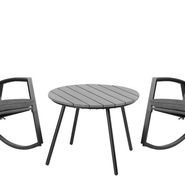На фото: Комплект меблів Loki (20584), Комплекти для балкону Garden4You, каталог, ціна