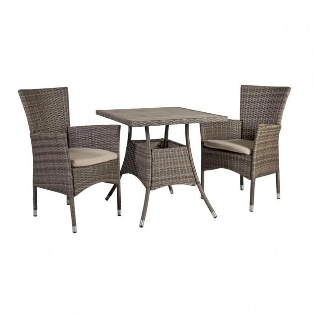На фото: Столовий комплект Paloma (k21134), Столові комплекти зі штучного ротангу Garden4You, каталог, ціна