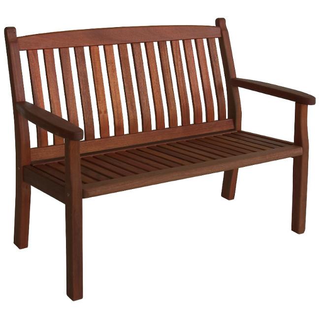 На фото: Деревянная скамейка Windsor (07093), Лавки з дерева Garden4You, каталог, ціна