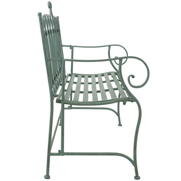 На фото: Cадова лавка Mint (40054), Металеві лавки Garden4You, каталог, ціна