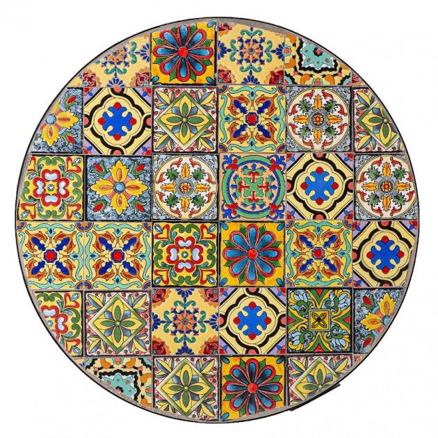 На фото: Круглий стіл Morocco (38681), Круглі столи Garden4You, каталог, ціна
