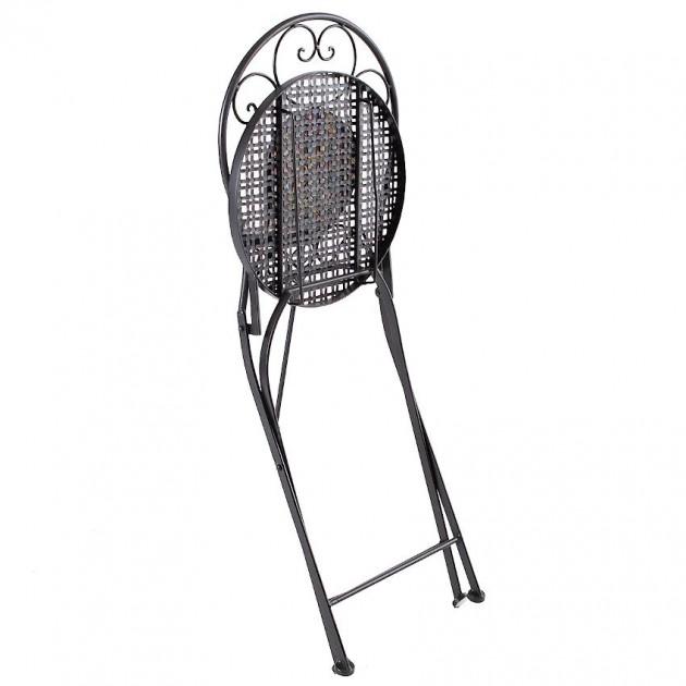 На фото: Складаний стілець Morocco (38682), Металеві стільці Garden4You, каталог, ціна