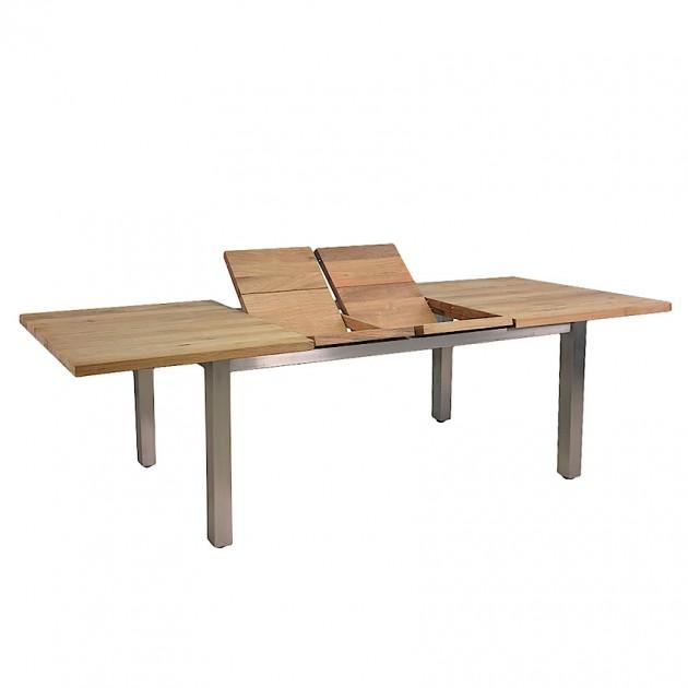 На фото: Обідній стіл Nautica (13251), Дерев'яні столи Garden4You, каталог, ціна