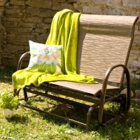 На фото: Двухместное кресло-качалка Montreal (11724), Крісла-гойдалки Garden4You, каталог, ціна