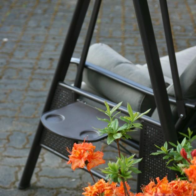 На фото: Садова гойдалка Cairo (11826), Садові гойдалки Garden4You, каталог, ціна